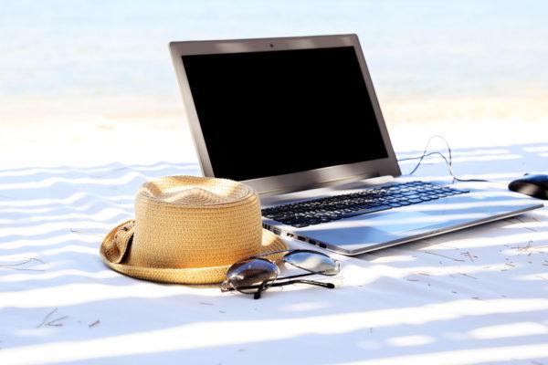 Segurança digital nas férias