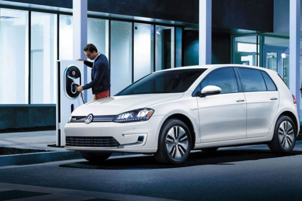 Área de mobilidade elétrica da Volkswagen