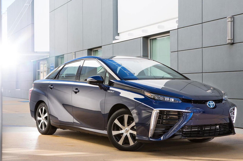 Veículos eletrificados da Toyota
