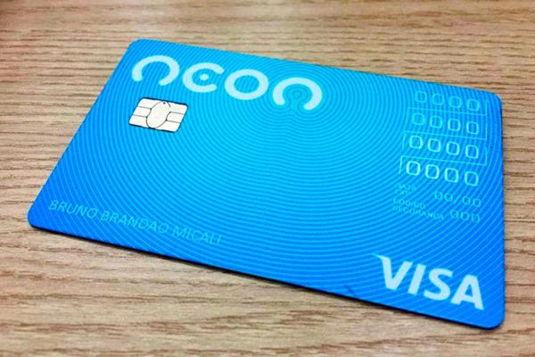 Cartão de crédito do Banco Neon