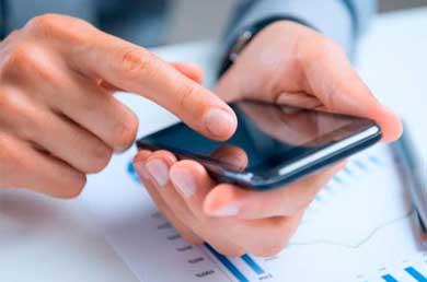 boleto bancários versão celular mobile